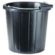 BLACK BUCKET (15LTR/3GAL)