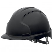 JSP EVO3 BLACK SAFETY HELMET