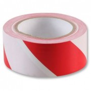 RED & WHITE ADHESIVE TAPE