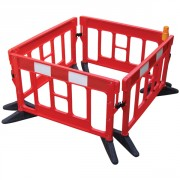 2 METRE RED TITAN BARRIER